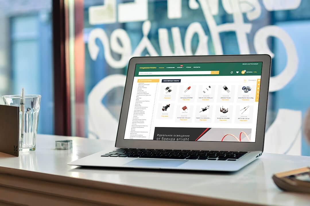 Интернет-магазин на Опенкарт