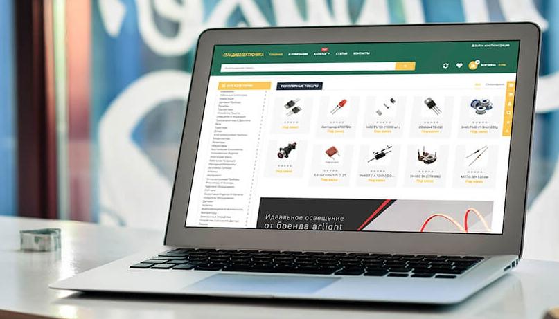 Интернет-магазин на готовом решении